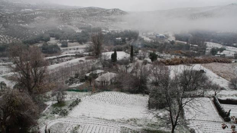 La nieve puede volver este domingo a la Subbética y Los