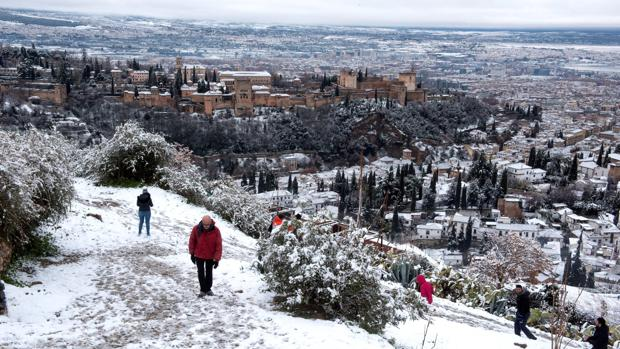 La Alhambra, nevada