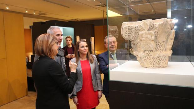 Visita del consejero de Cultura al Museo Arqueológico de Córdoba