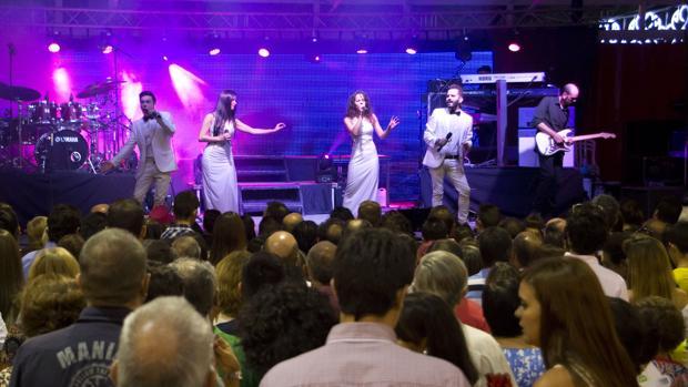 Actuación en la Feria Real de Lucena