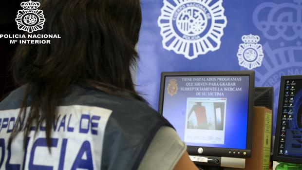 Actuación policial contra delitos en internet
