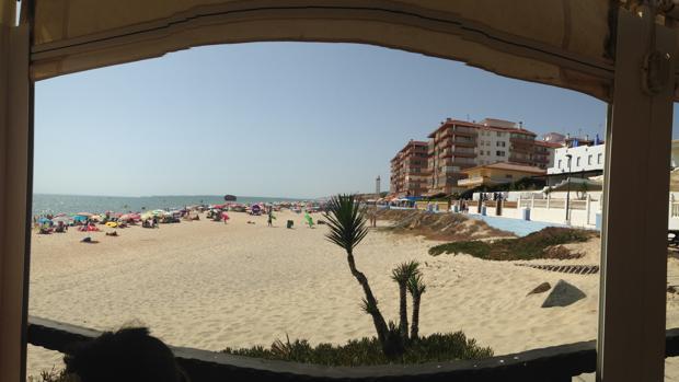 Imagen de la playa de Matalascañas