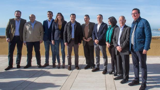 Los presidentes provinciales del PP andaluz