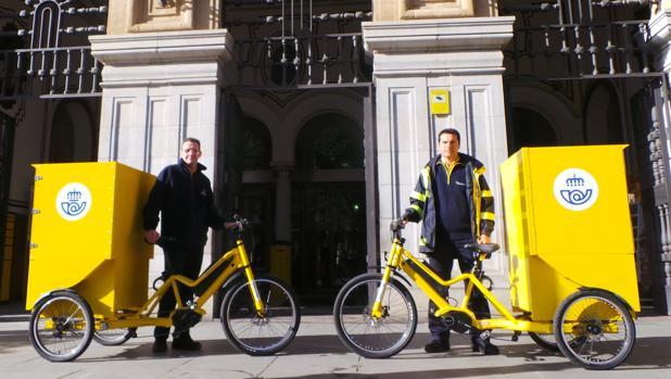 Los nuevos triciclos de Correos