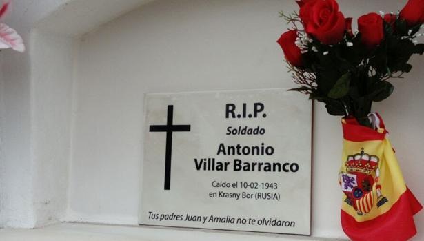 Villar no tenía familiares que lo pudieran reclamar y sólo era posible desde el Ayuntamiento