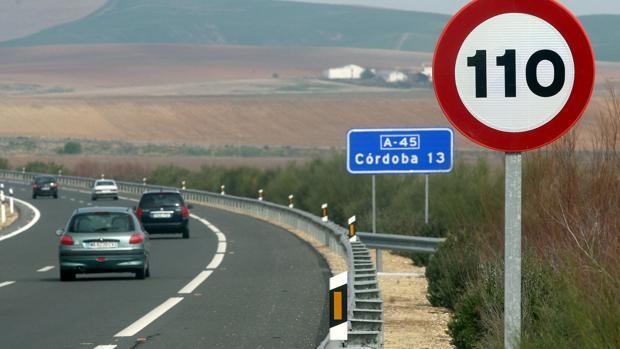 Imagen de la A-45, carretera en la que se ha producido el accidente mortal