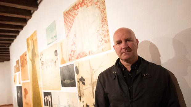 El artista, en la Fundación Gala