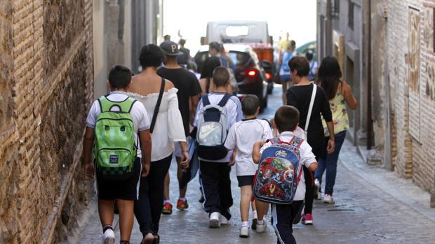En un colegio infantil y primaria en Jaén