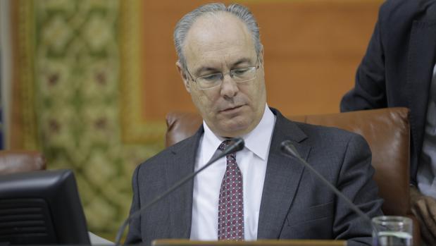 Imagen de Pablo Durán, presidente del Parlamento andaluz