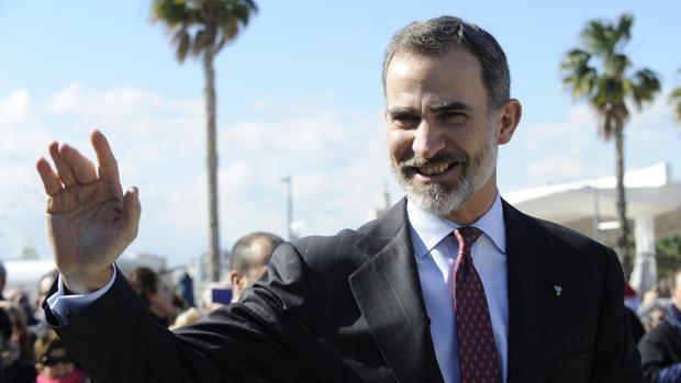El Rey de España entrega en el Museo Pompidou las medallas de oro al mérito de las Bellas Artes