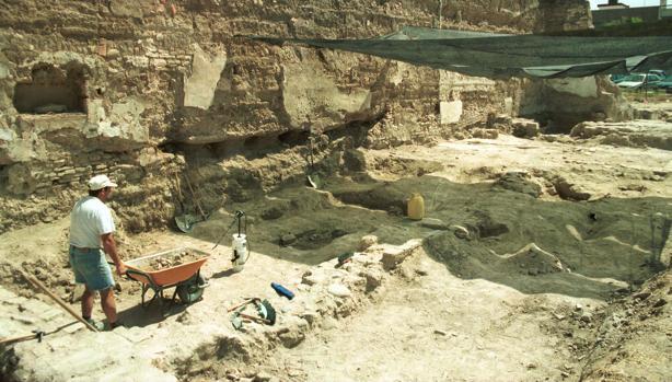 Excavación del arrabal de Saqunda
