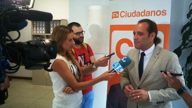 Juan Cassá, portavoz de Ciudadanos en el Ayuntamiento de Málaga