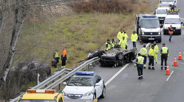 Accidente de tráfico mortal en la autovía