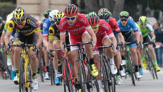 Los participantes de la pasada edición en la Vuleta Ciclista a Andalucía