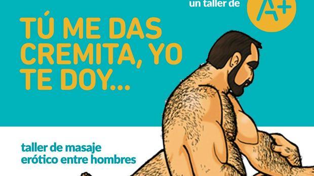 Extracto de uno de los carteles del acto en Málaga