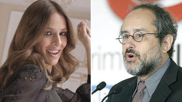Eva González y Antonio Baños