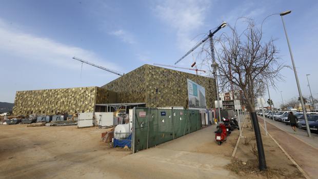 Obras del hospital que Quirón está construyendo en Córdoba