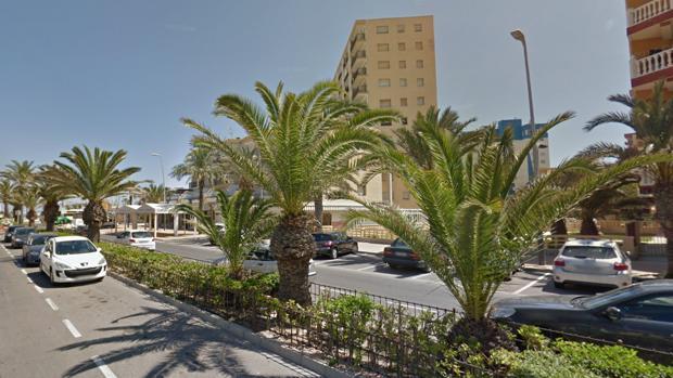 Avenida del Mediterráneo de Roquetas de Mar, donde ha tocado el premio