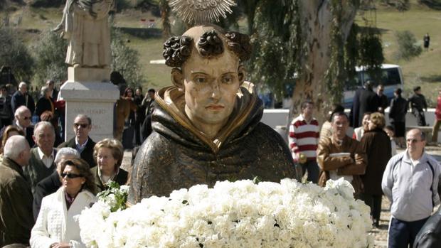 Procesión del Beato Álvaro de Córdoba en su festividad