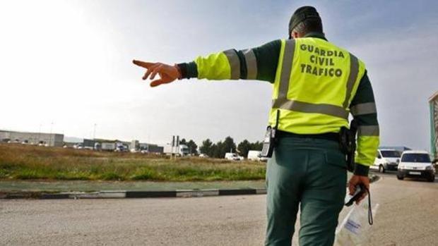Imagen de archivo de un guardia civil