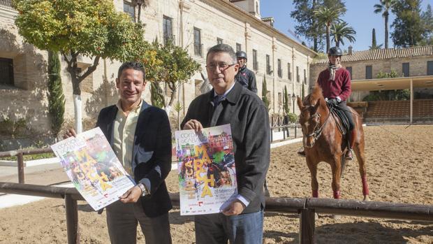 Presentación del cartel de la Marcha Hípica en Córdoba para el Día de Andalucía