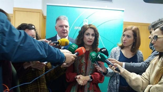El consejera de Hacienda y Administración Pública, María Jesús Montero