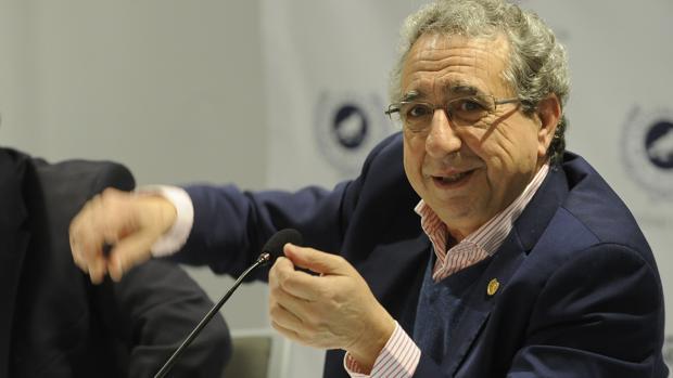 José Ángel Nárvaez durante el desayuno informativo