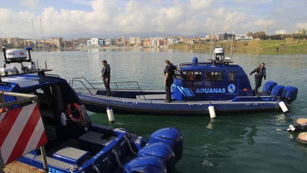 Imagen de archivo de las patrulleras de aduanas