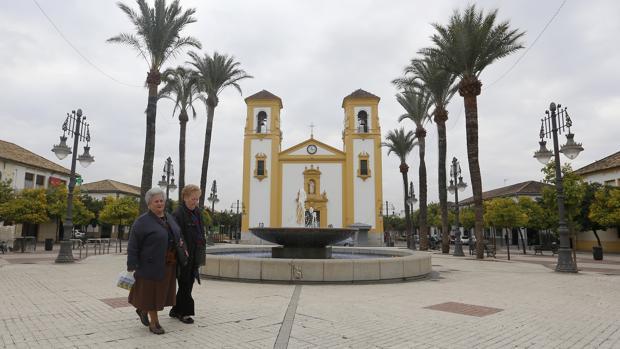 Plaza de Cañero, que cambiará su nombre por la Ley de Memoria Histórica