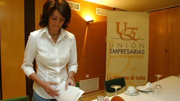María Fernández Pino, expersidenta de la Unión de Empresarias de Córdoba