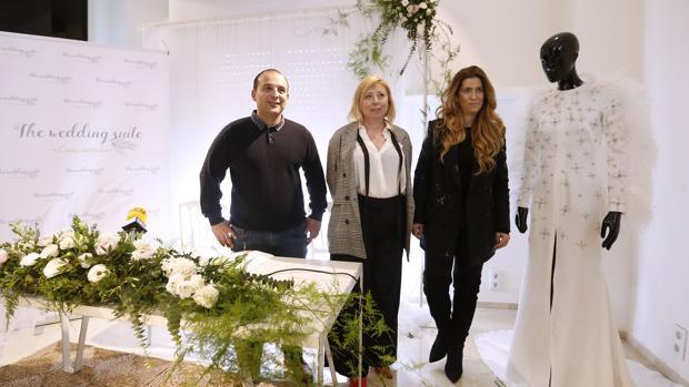 Kisko García, María del Carmen López y Juana Martín