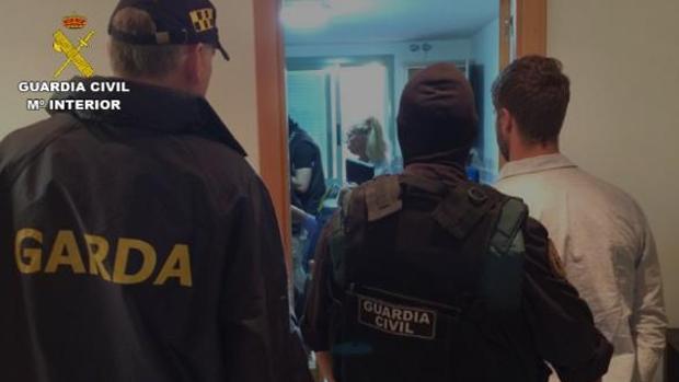 James Q. detenido en Madrid