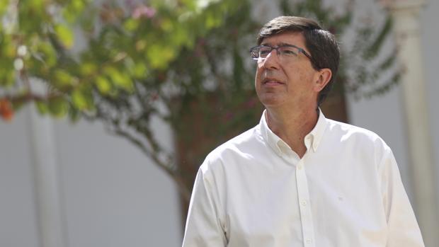 Juan Marín, portavoz de Ciudadanos en Andalucía