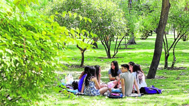 Circuito Parque Cruz Conde Cordoba : Agua de regar en córdoba
