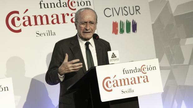 El alcalde de Málaga Francisco de la Torre