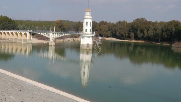 Imagen de archivo del pantano de Cubillas, en Granada