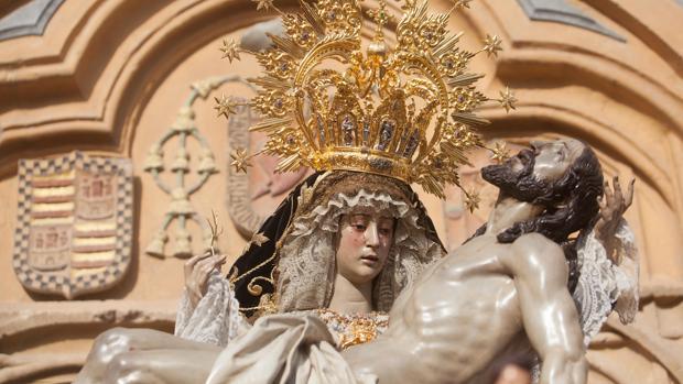 La Virgen de las Angustias en la Semana Santa de Córdoba