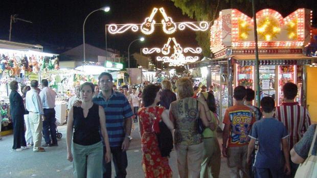 Imagen de una edición pasada de la Feria de Villanueva de Córdoba