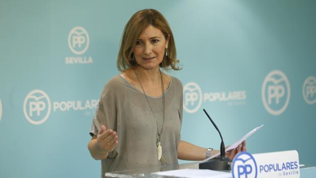 La diputada autonómica del PP-A Alicia Martínez