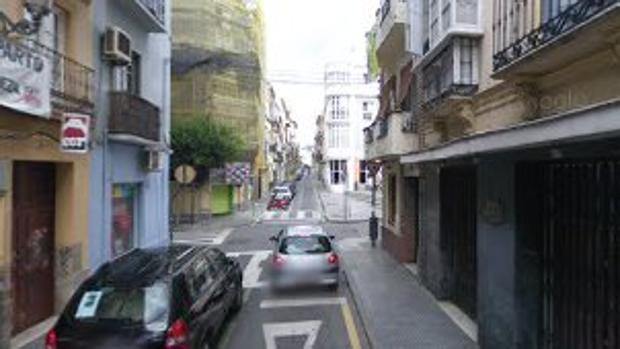 Calle Madre de Dios, en el centro histórico malagueño