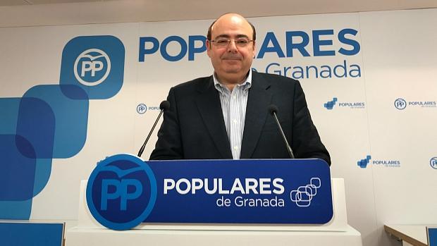 Sebastián Pérez, candidato del PP al Ayuntamiento de Granada