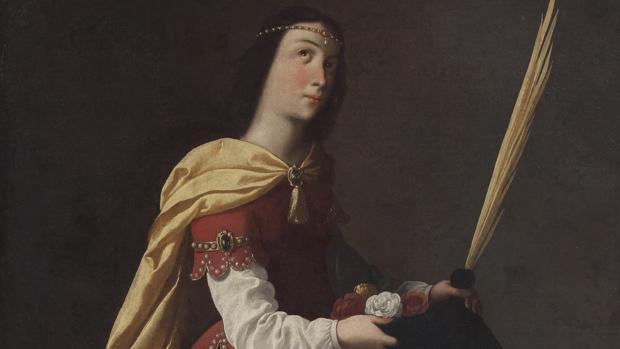 Santa Casilda, de Francisco de Zurbarán