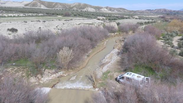Río en el que han encontrado el cuerpo del hombre desaparecido