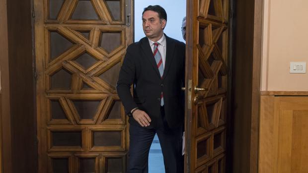 El consejero andaluz de Turismo, Francisco Javier Fernández