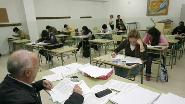 Alumnos de Bachillerato en Córdoba