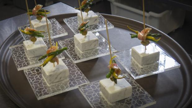 La tapa de Granada ganadora del concurso, elaborada por el restaurante Sancho Original