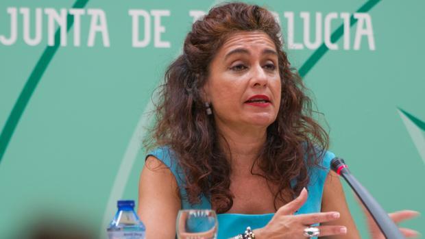 María Jesús Montero, consejera de Hacienda y Administración Pública de la Junta de Andalucía