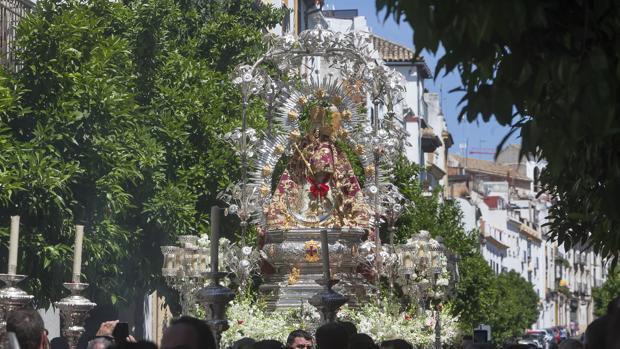 Procesión de la Virgen de la Cabeza de Córdoba