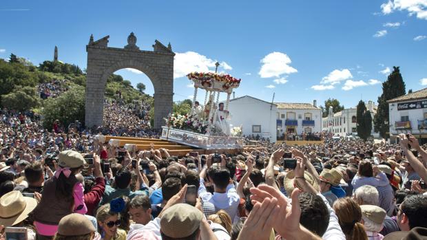 Este fin de semana se celebra en Andújar (Jaén) la Romería de la Vigen de la Cabeza, la más antigua de España