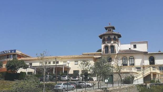 Residencia La Milagrosa en el barrio de La Corta en Málaga